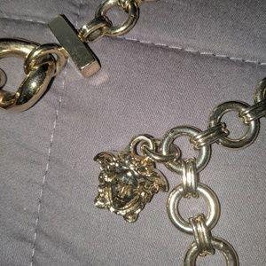 Versace gold belt